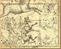 Image result for Dog Star clusters under Sirius old star maps