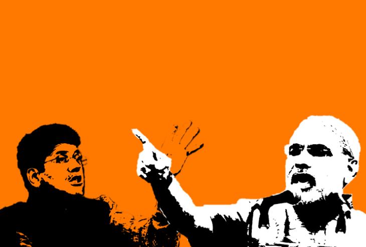 Narendra Modi, Piyush Goyal praising demonetisation