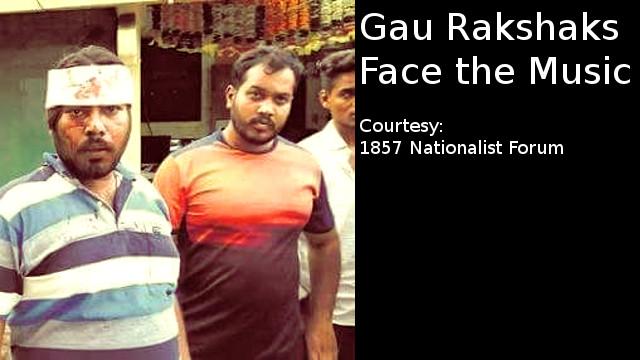 Gau Rakshaks face the wrath of 1857 Nationalist Forum members in Maharashtra