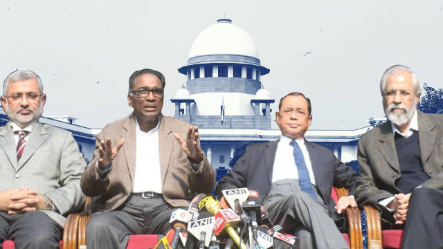 Four Supreme Court Judges who blew the lid off the crisis brewing in Indian judiciary