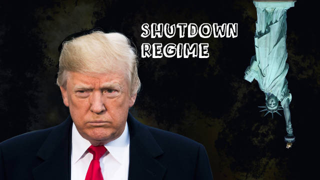 Donald Trump Leads to Federal Government Shutdown in the USA