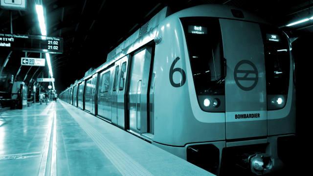 Delhi Metro Employees Strike Action