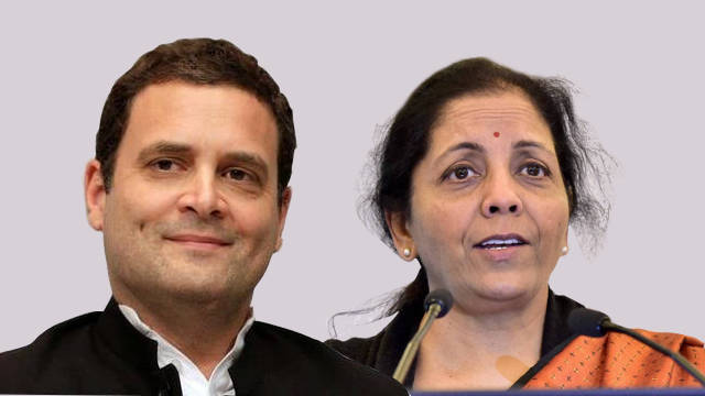 "Nirmala Sitharaman called Congress a ""Muslim Party"""