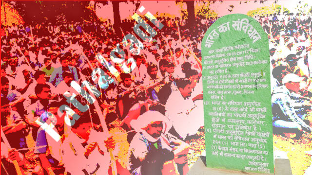 The Pathalgadi Movement of Jharkhand is Causing Trouble to BJP's Agenda