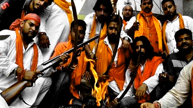 Hindutva terrorism expose cover up by arrest of activists