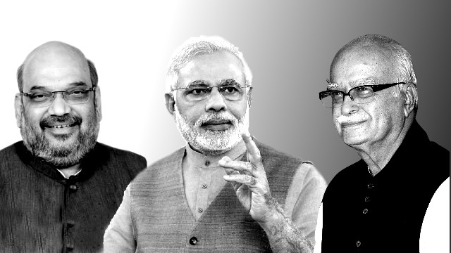 Advani's jibe at Modi and Shah not worthy of sympathy