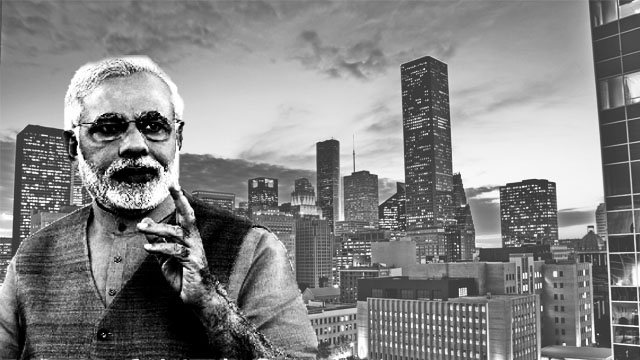 Why the Howdy Modi event is opposed in Houston?