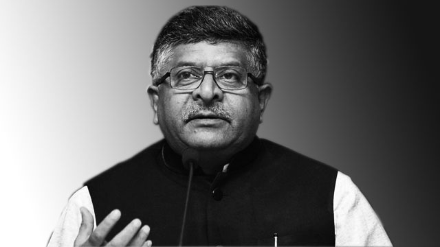 Ravi Shankar Prasad's filmy theory exhibits the real doom India is approaching
