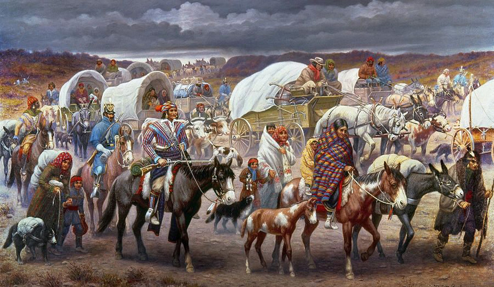 """""""Trail of Tears Walk"""" commemorates Native Americans' forced removal"""