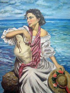 Mujer del Mediterraneo