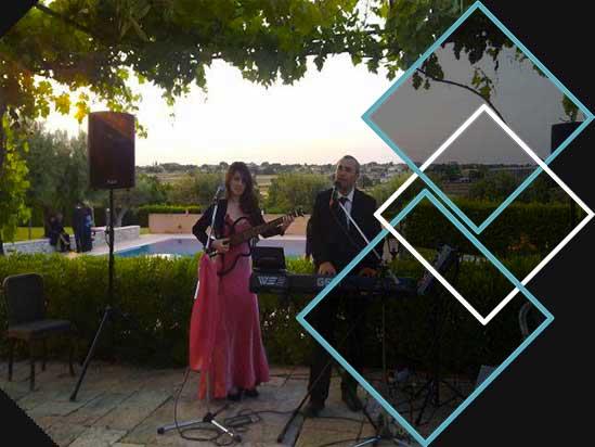 musica matrimonio al locale con il Duo PePeNeRo
