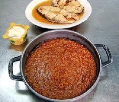 receta de caldero al estilo Tabarca