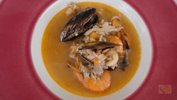 sopa pescado