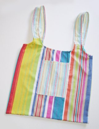 Multi-color UPcycled Tote Bags   © Pepe & Sherina Designs™
