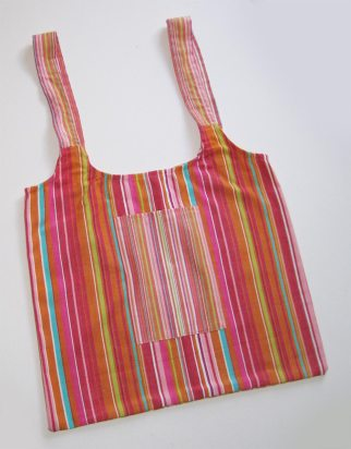 Multi-color UPcycled Tote Bags | © Pepe & Sherina Designs™