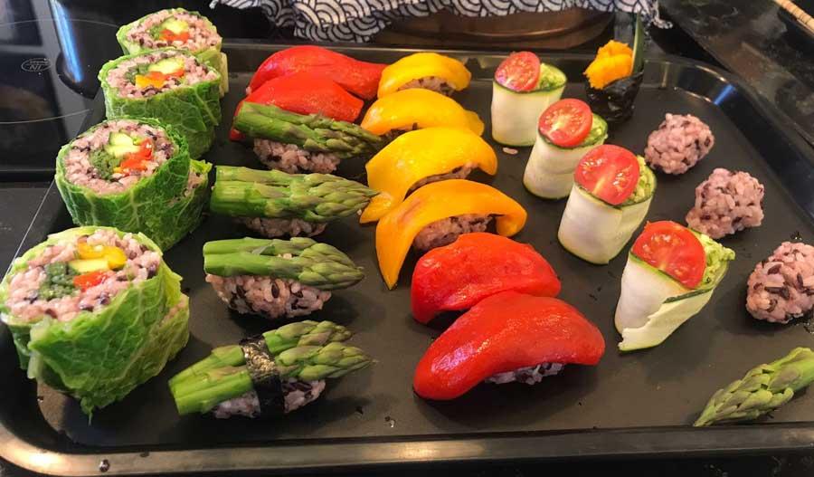 Corso di cucina Giapponese a Roma