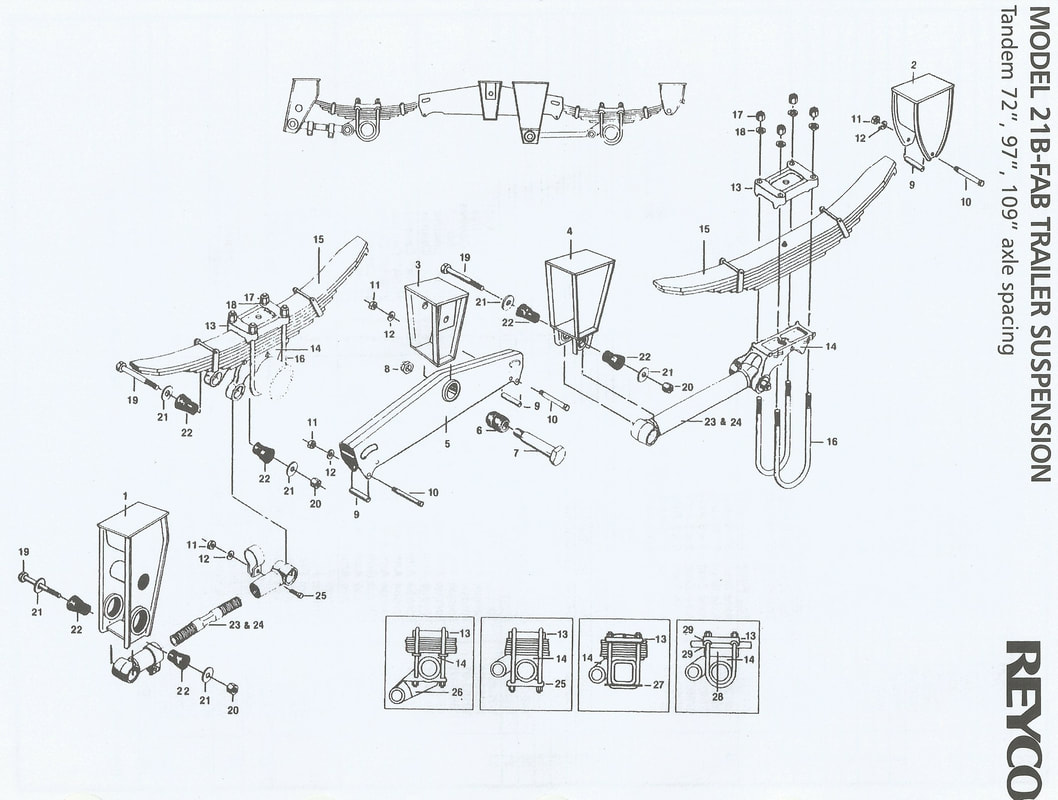 REYCO TRAILER SUSPENSION SCHEMATIC GUIDE
