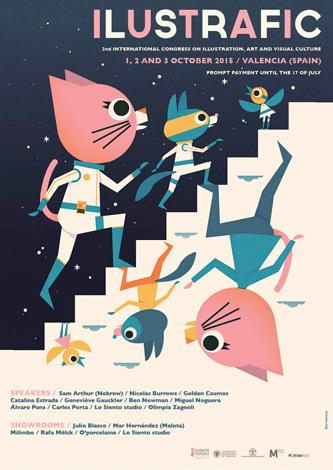 ILUSTRAFIC_2º Congreso Internacional de ilustración, Arte y Cultura Visual
