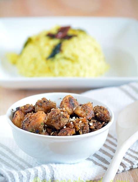 Arbi-Taro root-Seppangilangu Roast-Fry Recipe