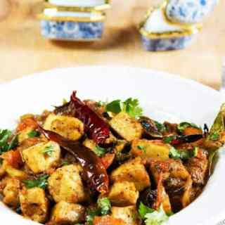 Chettinad Paneer Recipe, Hot and Spicy
