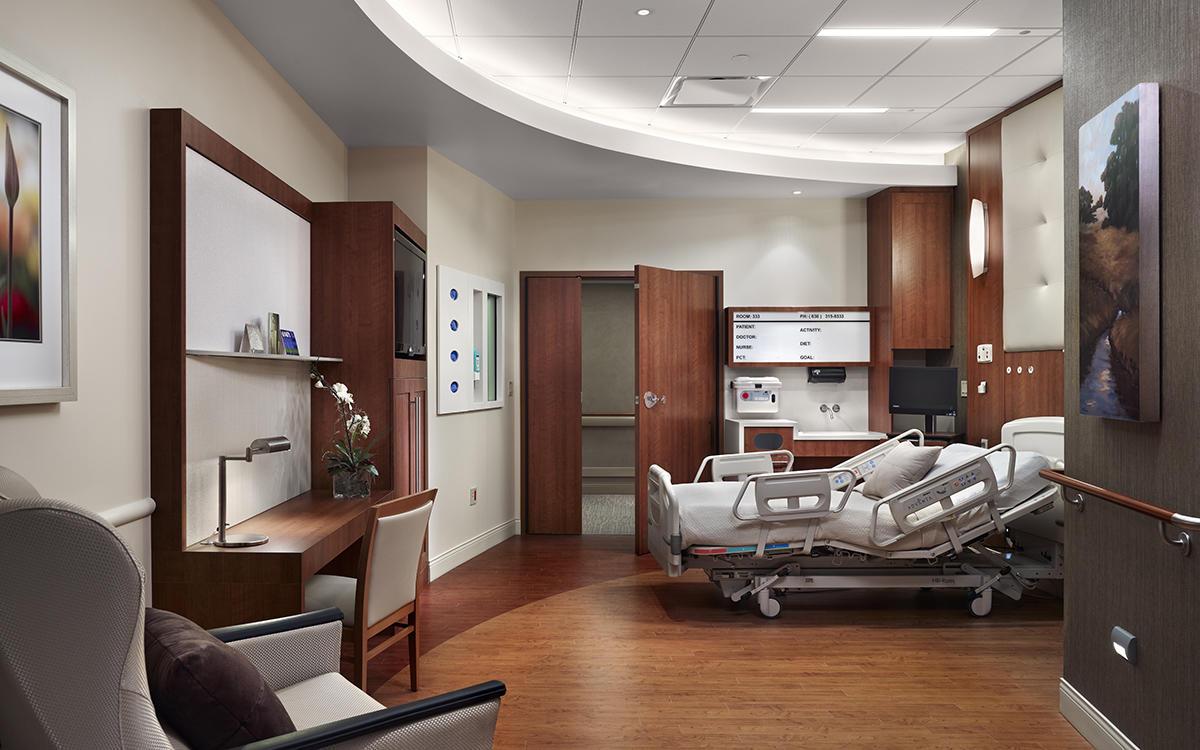 Central DuPage Hospital Bed Pavilion Pepper Construction