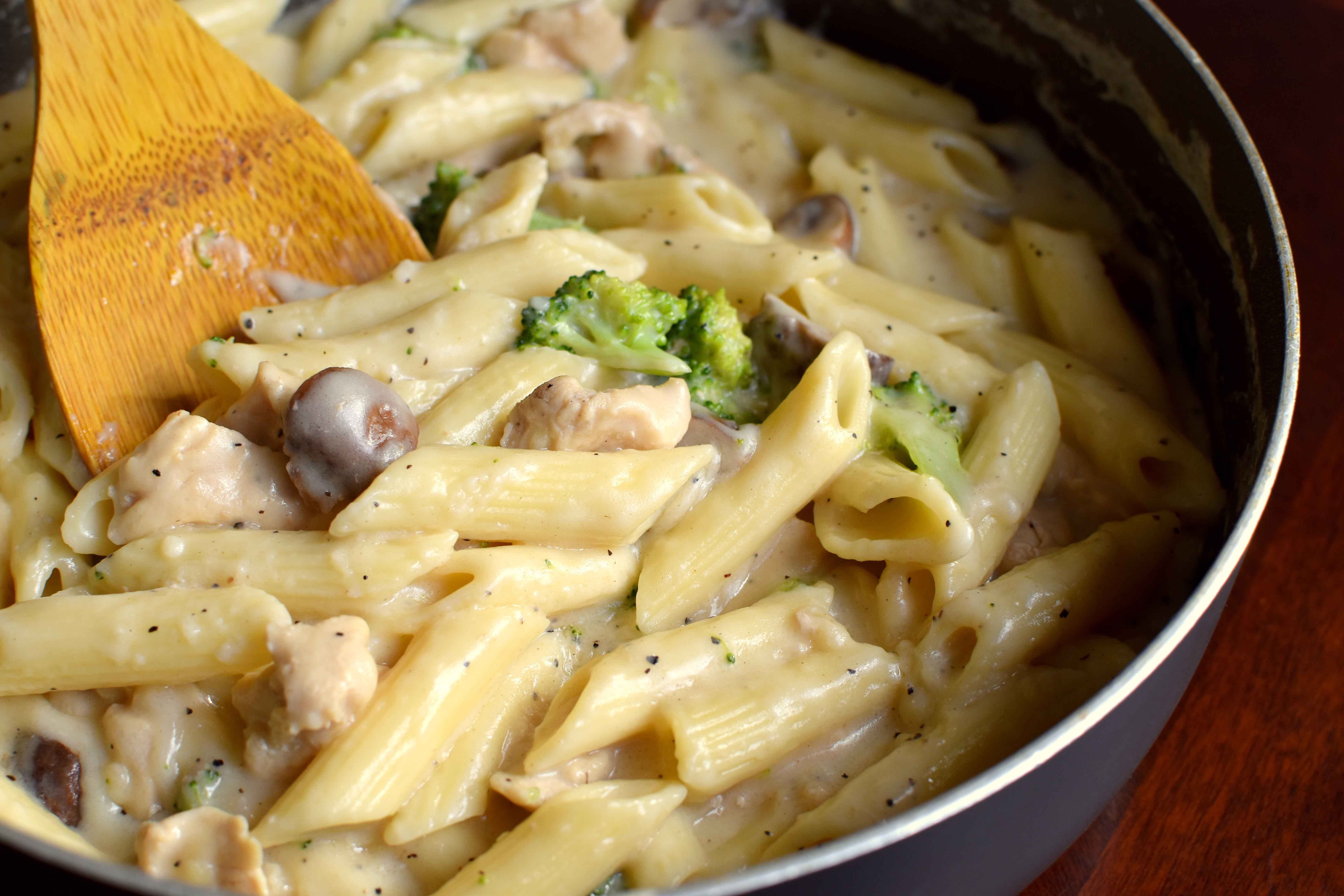 Chicken Penne Pasta Recipes White Sauce