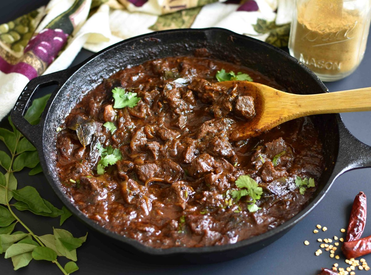 Spicy Slow cooked Beef Curry