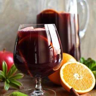 Spiced Traditional Red Sangria