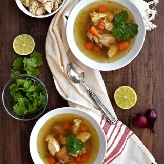 Chicken Cilantro Detox Soup
