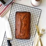 Whole Wheat Banana Bread - Pepper Delight #pepperdelightblog #recipe #bread #cake #bananabread #wholewheat #healthy #breakfast #honeycake