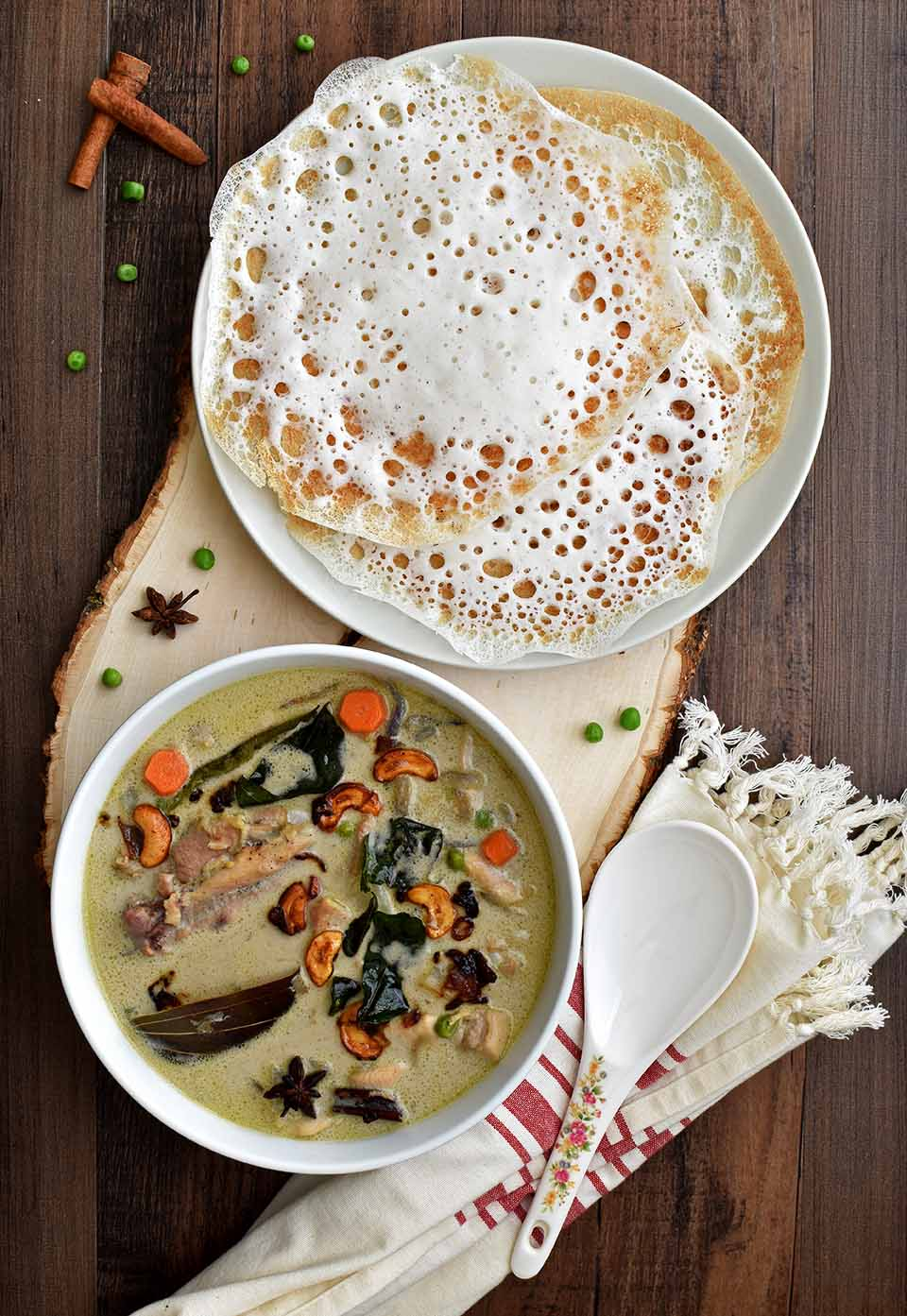 appam and stew hd images