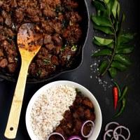 Beef Ularthiyathu/Beef Dry Roast