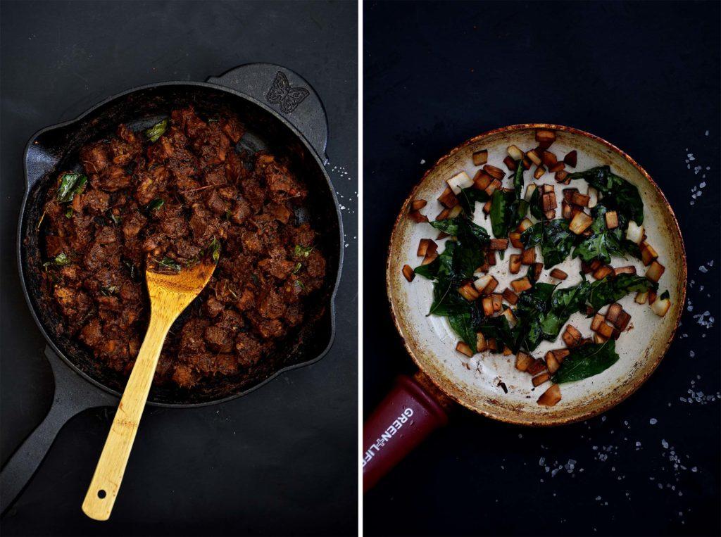 Beef Ularthiyathu/Beef Dry Roast - Pepper Delight
