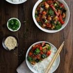 Teriyaki Chicken and Veggies - Pepper Delight #pepperdelightblog #recipe #teriyaki #teriyakichicken #teriyakisauce #japanese #asian #mealprep #healthy #30minutesrecipes #homemadeteriyakisauce #dinner #lunch #sidedish #party #weeknightmeal #comfortmeal