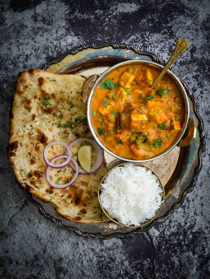 Matar Paneer- Pepper Delight #pepperdelightblog #recipe #paneer #matarpaneer #paneerpeascurry #indianrecipes #curry #stew #paneermasala #mutterpaneer #vegeterian #indiancurry #healthy #paneerpeasmasala #sidedish #tofu