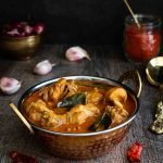 Rich n Juicy Kerala Style Chicken Curry cooked in an Aromatic Creamy Gravy!
