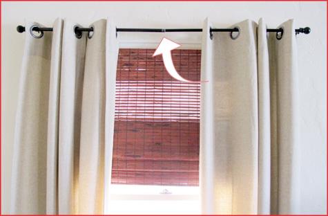 diy curtain rods a quick fix for 2 pepper design blog