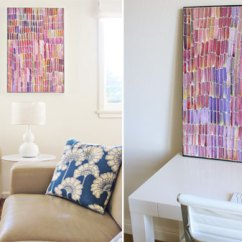 Diy Canvas Art For Living Room Couches Small Refresh Semi Colorful Pepper Design Blog I Know
