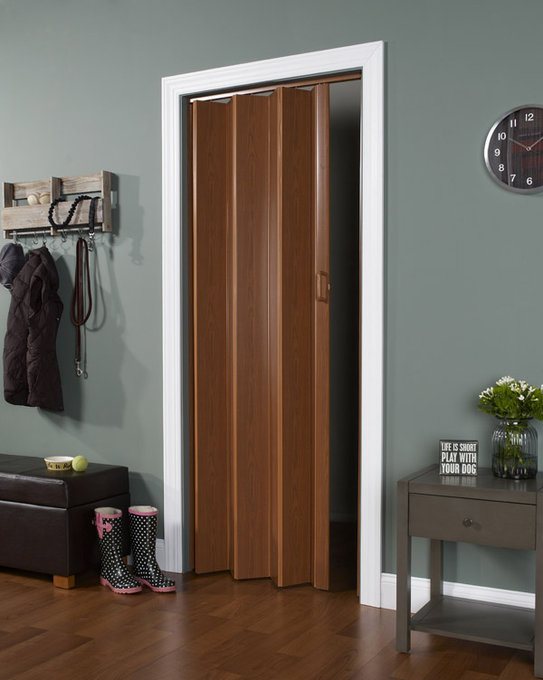 Accordion Folding Doors Decorative Interior And Closet Doors