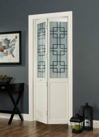 Geometric Bifold Door