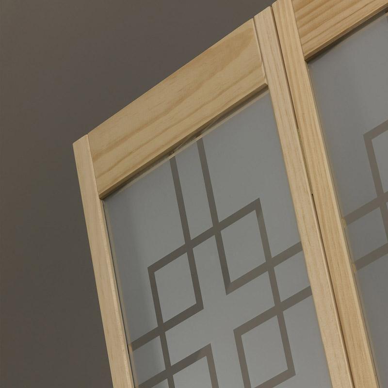 Geometric Bifold Door