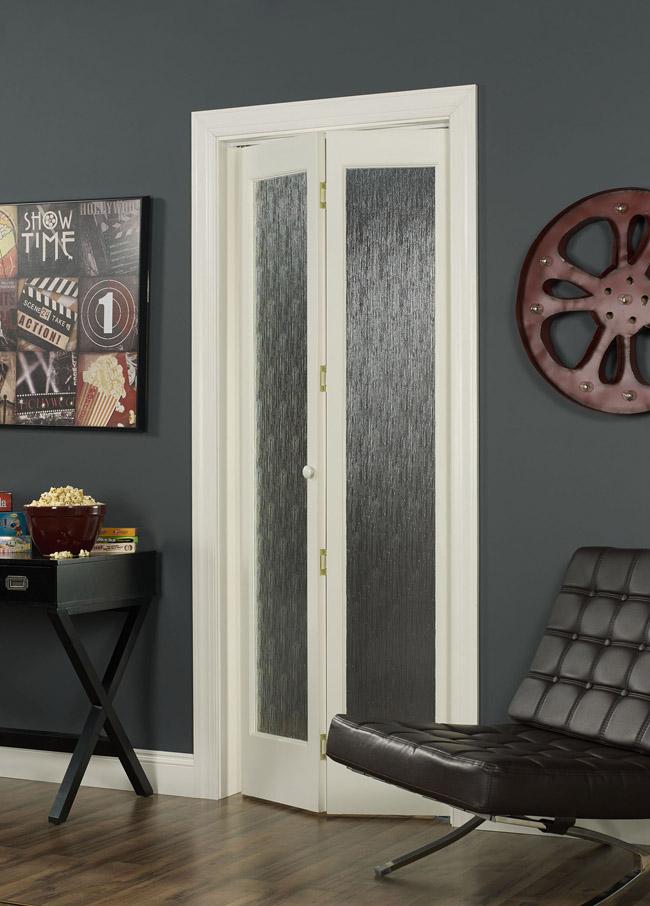 Full Glass Bifold Door with RainInspired Design