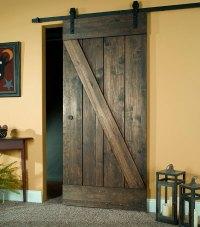 Wood Barn Door Kit - Rustic Wooden Sliding Door
