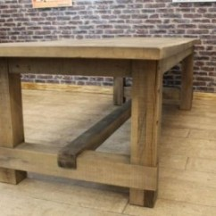 Oak Kitchen Table Small Sets Pimlico 2 8m Farmers