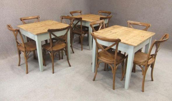 bespoke rustic pine tables