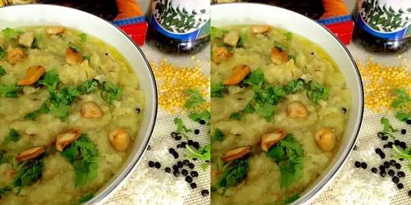 Easy tasty moong dhal khichidi