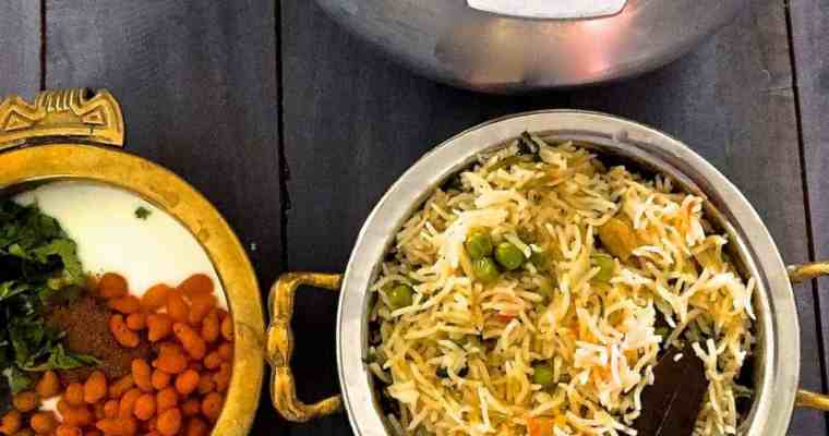 Matar ki Tehri UP Style – Fresh Peas cooked with Rice & Spices