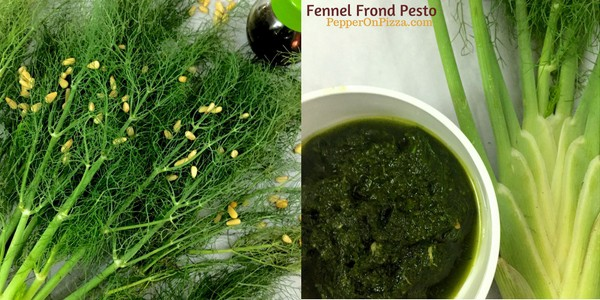 Fennel Frond Pesto in Basil Oil_PepperOnPizza.com