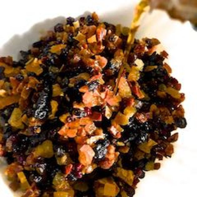 Soak fruits for Christmas fruit cake