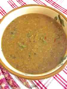 Masoor dal for the New mom